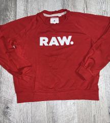 Piros RAW sportos felső M