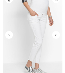 Új fehér kismama nadrág
