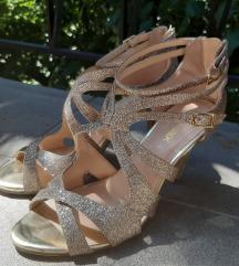 Catwalk arany alkalmi szandál