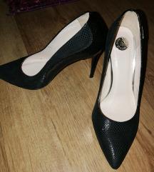 Giulio Santoro 37-es tűsarkú alkalmi bőr cipő