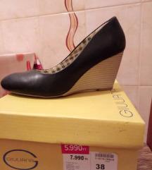 Fekete tavaszi cipő Humanic