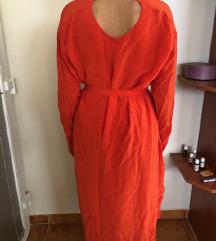 H&M narancssárga hosszú nyári ruha