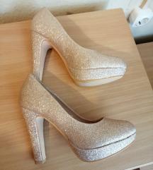 Új 36-37-es platform női cipő