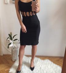 VERSACE fekete ruha