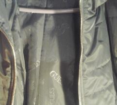 Guess szürke csinos kabát M-es