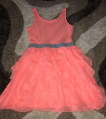 H&M S-es barackvirágszínű ruha