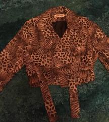 Leopard Mintás műbőr dzseki
