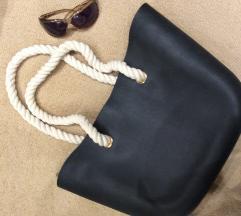 Obag jellegű fekete táska