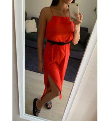 Pirosas narancssárgás ruha
