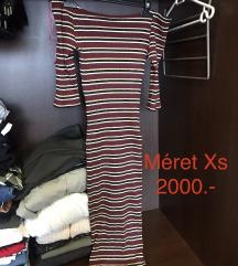 Új csíkos ruha 50%