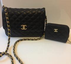 Chanel medium crossbody és pénztárca
