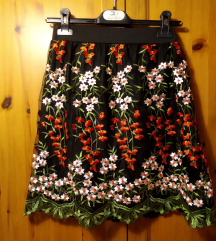 Bohoo virágmintás szoknya (S-M)