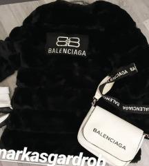 Balenciaga szőrme kabát