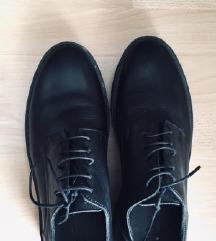 COS fekete bőr cipő