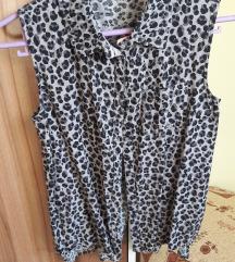Leopárd mintás H&M-es nyári trikó
