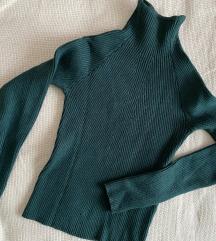 Bershka cropped knit pulcsi