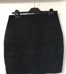 Orsay fekete testhezálló szoknya
