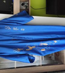 hímzett kínai kimonó