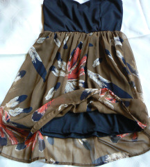 Tally fekete mini ruha tollakkal 42- es