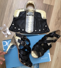 Paco Gil női cipő + táska szett
