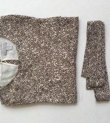 H&M hosszú ujjú ruha 38-as