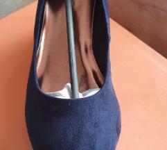 Kék velúr 39es cipő