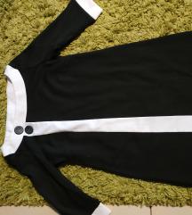 F&F fekete fehér kisruha