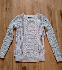 C&A menta színű pulcsi