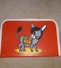 retro papír gyerekbőrönd