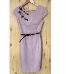 Mohito rózsaszín elegáns ruha
