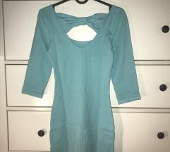 Gina Tricot kék masnis ruha