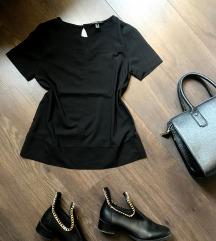 Mango  suit elegáns fekete blúz 36-os