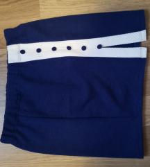 Kék fehér csíkos szoknya
