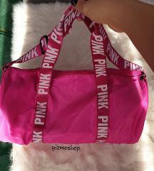 VS Pink ihlette táska edzéshez