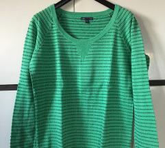 Gap zöld-kék mintás pulóver