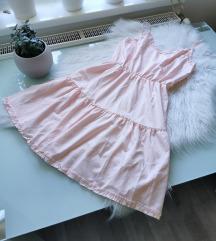 Pasztell rózsaszín nyári ruha M Új 🌸