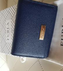 Eredeti Furla mini pénztárca kulcstartó pouch