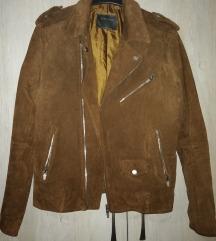 Zara Man férfi valódibőr dzseki