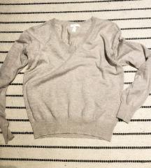 H&M finomkötött pulóver
