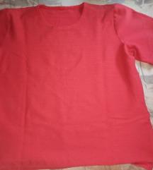 Piros rövid ujjú póló eladó!