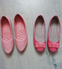 Púder rózsaszín, rózsaszín (pink) lakk balerina 39