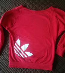 Piros Adidas sportos felső XS-S