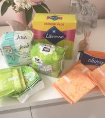 Női higiénia csomag
