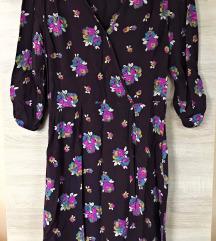 F&F lila alapon virágos ruha (csere is)