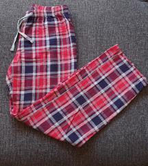 H&M kockás pizsama nadrág