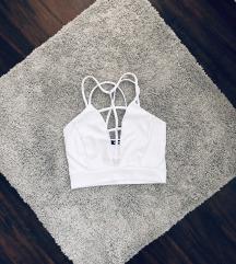 Missguided fehér top