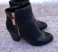 Fekete deichmann elegáns tűsarkú cipő, Szombathely