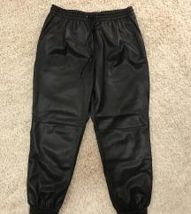 Zara műbőr jogger nadrág