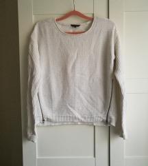 Fehér Review pulóver