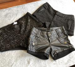 Fekete rövidnacik/shortok